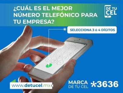 El mejor número telefónico para tu empresa es de 3 o 4 dígitos - Marca *3636 para conseguir el tuyo.